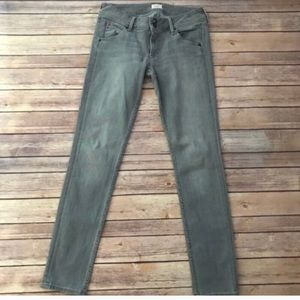 Hudson Lightwash gray skinny jean size 27